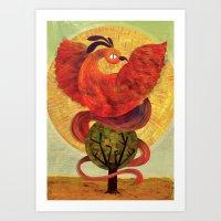 Pheonix Art Print