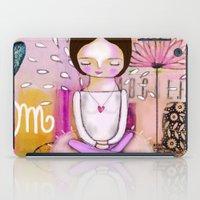 Om Meditation Woman iPad Case