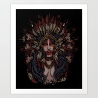War Paint - Finished Art Print