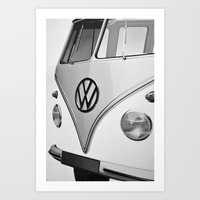 vw Art Prints featuring VW by Mawwall