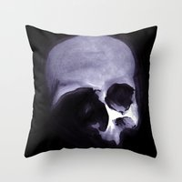 Bones VI Throw Pillow