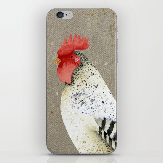 Rooster Wallace iPhone & iPod Skin