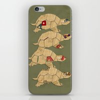 Heroes In A Pizza Box...… iPhone & iPod Skin