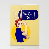 Female Bunnism Stationery Cards