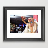 Ketchup Framed Art Print