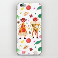 Pizza Folk iPhone & iPod Skin