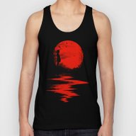 The Land Of The Rising S… Unisex Tank Top