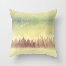 Winter's Journey  Throw Pillow