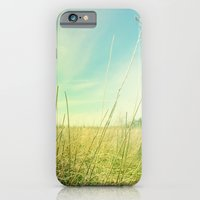 iPhone & iPod Case featuring Out to Pasture by Olivia Joy StClaire