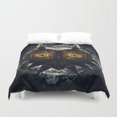 Epic Pure Evil of Majora's Mask Duvet Cover