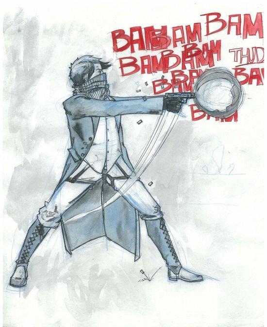 BamBamBam Art Print