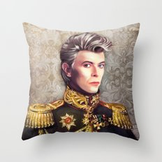 Lieutenant Bowie Throw Pillow