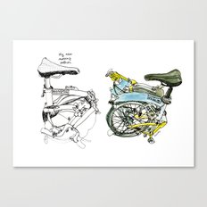 My brompton Canvas Print