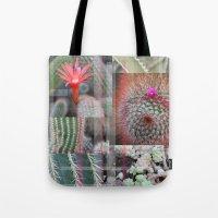 Flowering Cactuses  Tote Bag