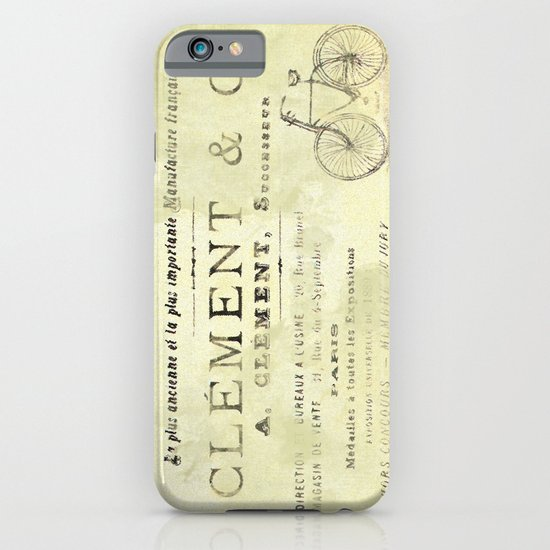 Bicyclette iPhone & iPod Case
