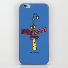 Traffic signal iPhone & iPod Skin