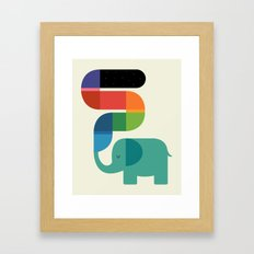 Rainbow Painter Framed Art Print