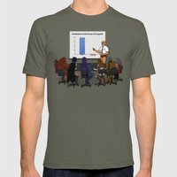 I HAVE THE POWERPOINT! Mens Fitted Tee Lieutenant SMALL