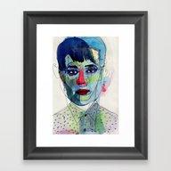 Girl 03 Framed Art Print