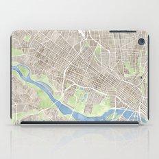 Richmond Virginia City Map iPad Case
