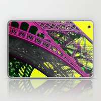purple paris Laptop & iPad Skin