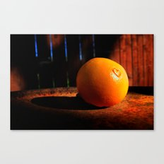 It's Not Easy Being Orange Canvas Print