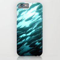 Thousands of jack fish iPhone 6 Slim Case