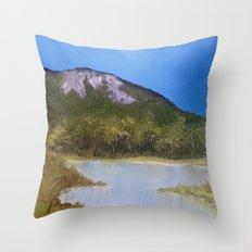 Mountain Lake I Throw Pillow