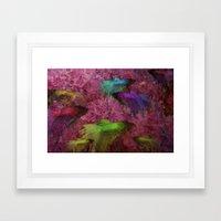 Beta Color Test Framed Art Print
