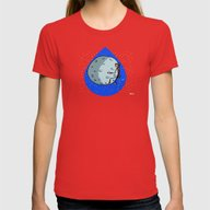 Dream Womens Fitted Tee Red SMALL