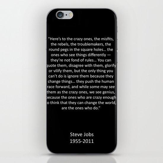 Crazy Ones  iPhone & iPod Skin