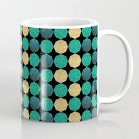 Glitzy Greens Mug