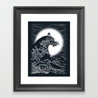 Waterbending Framed Art Print