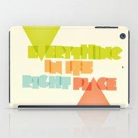 Everything . . iPad Case