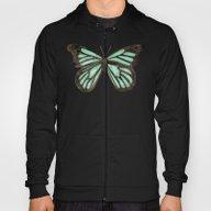 Mint Butterfly Hoody