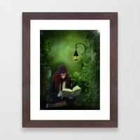 The Book Of Life Framed Art Print
