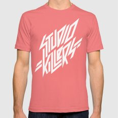 Studio Killers Mens Fitted Tee Pomegranate SMALL