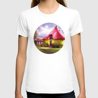 Once upon a time Womens Fitted Tee White SMALL