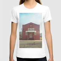 Soul Saving - Detroit, MI Womens Fitted Tee White SMALL