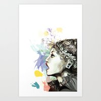 Before It ! Art Print