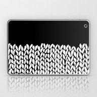 Half Knit Laptop & iPad Skin
