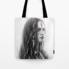 War Feathers  Tote Bag