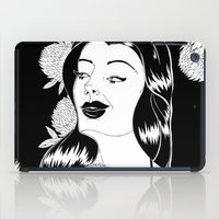 Girl With Flower iPad Case