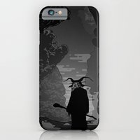 iPhone & iPod Case featuring The Demon by Guapo