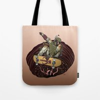 Boba Fett Shreds Tote Bag