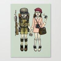 SAM And SUZY Canvas Print