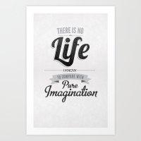 Pure Imagination Art Print