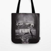 R U N (ANALOG Zine) Tote Bag