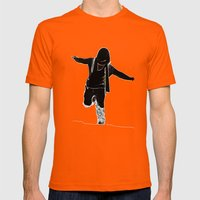 Swag Style Mens Fitted Tee Orange SMALL
