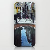 iPhone Cases featuring Venice Bridge by Rhianna Power